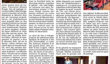 L'Avenir du 07.05.2015