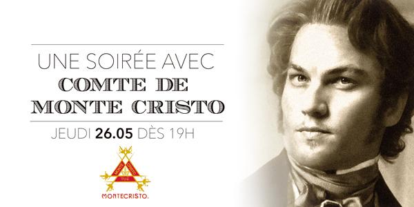 Une soirée avec le Comte de Monte Cristo – Jeudi 26.05