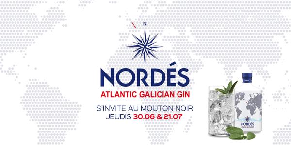 Jeudi 30 juin – Nordés Gin s'invite au Mouton Noir