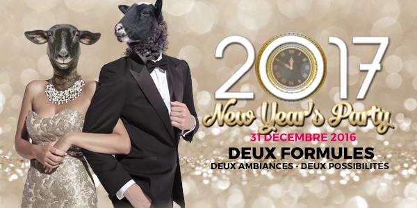 New Year's Party 2017 ( < Cliquez ici pour plus d'info)
