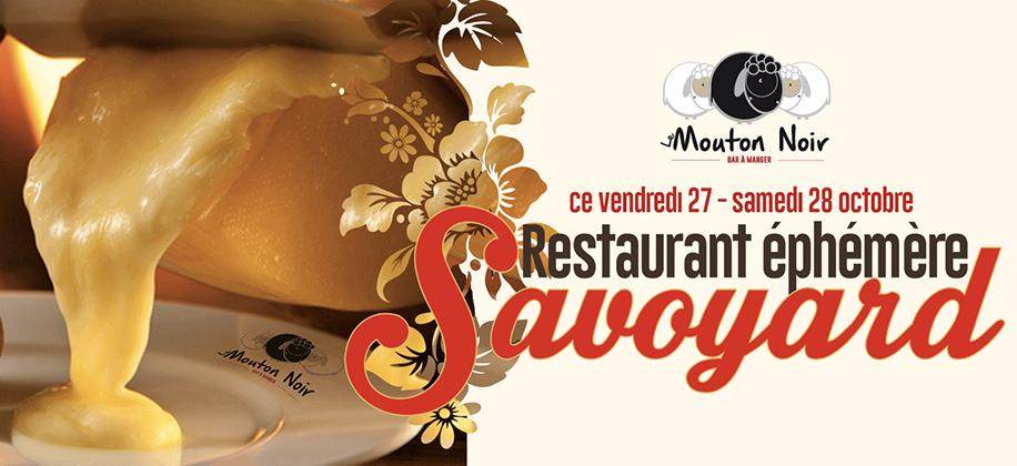 Restaurant éphémère Savoyard < Cliquez ici