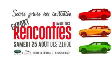 Nuit des rencontres Export-Soirée privée sur invitation