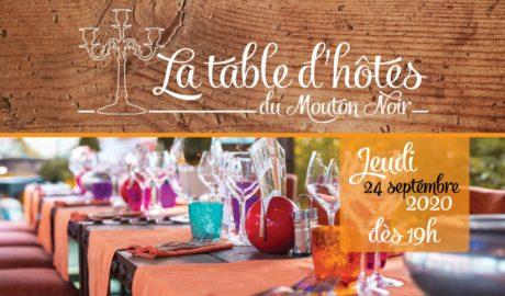 La table d'hôtes du Mouton Noir #1